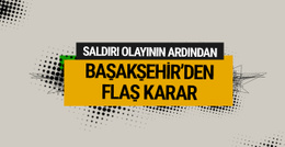 Başakşehir'de iki futbolcu kadro dışı bırakıldı