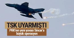 TSK'dan son dakika Kuzey Irak'a operasyon açıklaması