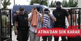 Yunanistan'dan 3 darbeci askerle ilgili karar!