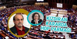 Skandal karara HDP'li vekillerden destek