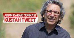 Can Dündar'dan küstah tweet!