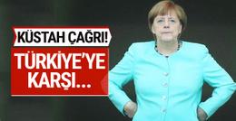 Merkel'den AB'ye küstah çağrı! Türkiye'ye karşı...