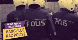 FETÖ operasyonunda hangi ilde kaç polis açığa alındı?