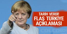 Merkel'den Türkiye açıklaması! 29 Nisan'da...