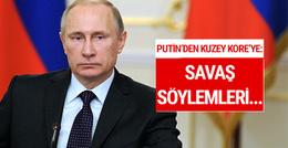 Putin'den Kuzey Kore çağrısı: 'Savaş söylemleri...'