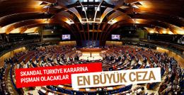 AKPM Türkiye kararından pişman olacak işte ilk yaptırım!
