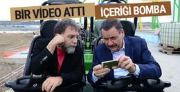 Ahmet Hakan'dan Melih Gökçek'e içeriği bomba video