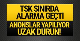 TSK sınır hattında YPG ile çatışıyor! Sıcak gelişmeler yaşanıyor