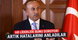 Çavuşoğlu: AB liderleri artık hatalarını anladı