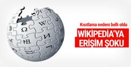 Wikipedia şoku erişim engelinin nedeni ne?