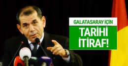 Dursun Özbek'ten Galatasaray için tarihi itiraf!