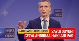 NATO'dan Türkiye açıklaması; Saygı duyun!
