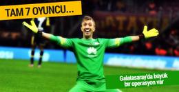 Galatasaray'da radikal karar! İlk 11'e 7 transfer...