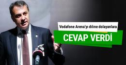 Fikret Orman'dan Vodafone Arena sitemlerine cevap