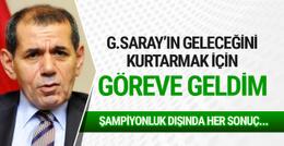 Dursun Özbek'den bomba açıklamalar