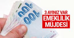 Yüzbinlerce Bağkur'luya emeklilik müjdesi