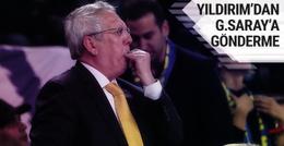 Aziz Yıldırım'dan G.Saraylılar'ı kızdıran şampiyonluk mesajı