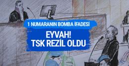 Akın Öztürk'ün damat yanıtlı ifadesi : Eyvah TSK rezil oldu!