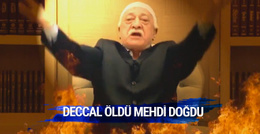 Gülen coşmuş Deccal öldü Mehdi doğdu...