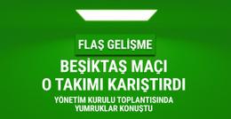 Gaziantepspor'da Beşiktaş maçı öncesi yumruklar konuştu