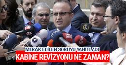 AK Parti'den kabine revizyonu açıklaması