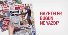 Gazete manşetlerinde bugün neler var 24 Mayıs 2017