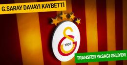 Galatasaray'a transfer yasağı kapıda