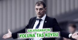 Slaven Bilic Galatasaray'ın yoluna taş koydu