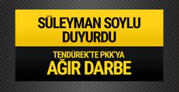 Bakan Soylu duyurdu: PKK'ya ağır darbe