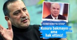 Fatih Altaylı'dan Fehmi Koru'ya: Hak ettiniz