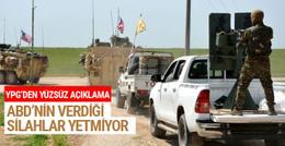 YPG'den ABD'ye küstah silah çıkışı!