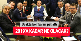 Erdoğan uçakta bombaları patlattı 2019'a kadar ne olacak?