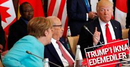 Liderler o konuda Trump'ı ikna edemediler
