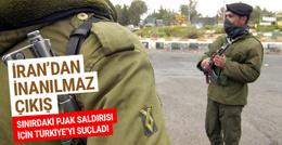 İran o saldırı için Türkiye'yi suçladı