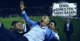 Şenol Güneş'ten Beşiktaş'ta tarihi başarı