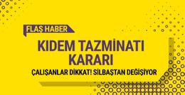 Yeni kıdem tazminatı yasası Bakanlar Kurulu kararı açıklandı