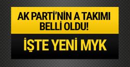 Erdoğan A Takımı için geldi! MYK listesi belirlendi