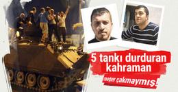 '5 tankı durduran kahraman' meğer çakmaymış!