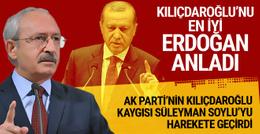 Kılıçdaroğlu'nu en iyi Erdoğan anladı Soylu'nun endişesi!