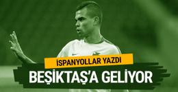 Pepe adım adım Beşiktaş'a geliyor
