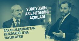Berat Albayrak'tan Kılıçdaroğlu'nun yürüyüşüne sert tepki