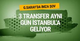 Galatasaray'da 3 transfer İstanbul'a geliyor!