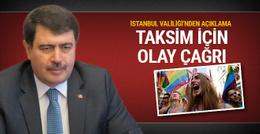 İstanbul Valiliği'nden 'Onur Yürüyüşü' açıklaması