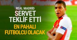 Real Madrid Mbappe için Monaco'ya servet teklif etti