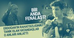 Erdoğan'ın rahatsızlığına tanık olanlar o anları anlattı