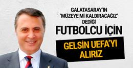 Fikret Orman: Gelsin UEFA Avrupa Ligi'ni kazanırız