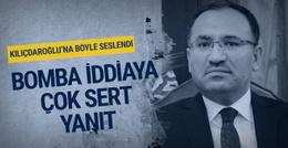 Bakan Bozdağ'dan Kılıçdaroğlu'na çok sert yanıt