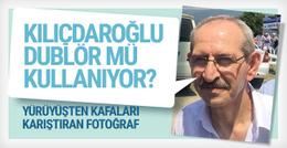 Kılıçdaroğlu yürüyüşte dublör mü kullanıyor?