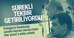 Erdoğan'ın fenalaştığı o anlar camide neler yaşandı?