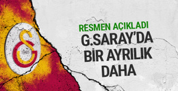 Galatasaray'dan ayrıldığını açıkladı